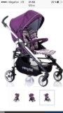 Коляска-трость baby care gt4 (violet). Фото 1.