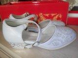 Туфли на девочку новые. Фото 1.