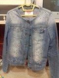 Джинсовый пиджак. Фото 2.
