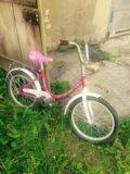 Велосипед для девочки только 2 дня цена снижена. Фото 1.