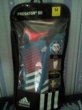 Щитки футбольные adidas predator. Фото 1.
