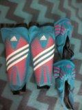 Щитки футбольные adidas predator. Фото 2.