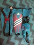 Щитки футбольные adidas predator. Фото 3.