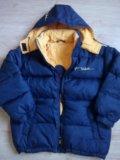 Куртка-пуховик двусторонний. Фото 1.