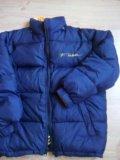Куртка-пуховик двусторонний. Фото 2.