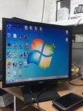 Acer v173d. Фото 1.