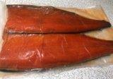 Красная копченая рыба. Фото 1.