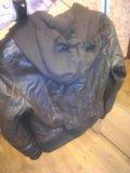 Кожаная куртка женская. Фото 2.