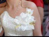 Свадебное выпускное платье. Фото 3.