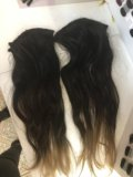 Натуральные волосы на трессах. Фото 3.