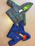 Новые детские куртки и комбинезон. Фото 1.