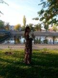 Леопардовое вечернее платье. Фото 1.