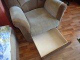 Диван + кресло. Фото 4.