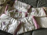 Бортики в детскую кроватку. Фото 1.