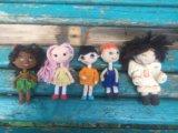 Куклы вязаные крючком. Фото 1.
