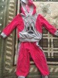 Велюровый костюм. Фото 1.