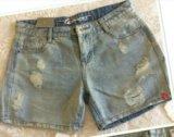 Женские джинсовые шорты. Фото 1.