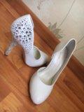 Свадебные туфли. Фото 2.