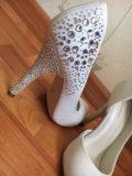 Свадебные туфли. Фото 4.