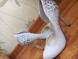 Свадебные туфли. Фото 1.