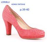 Продам туфли loriblu р.39-40 (новые). Фото 1.