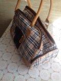 Сумка - переноска для маленьких животных. Фото 2.