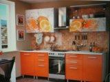 """Кухонный гарнитур """"апельсин"""". Фото 1."""