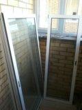 Алюминиевые раздвижные окна на балкон. Фото 2.