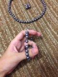 Бижутерия:серьги,браслет,ожерелье. Фото 2.