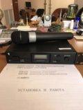 Радиомикрофон uhf audio-technica atw2120a. Фото 1.