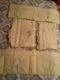 Бортики в кроватку,балдахин,есть пост.бельё. Фото 2.