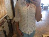 Белая блуза. Фото 1.