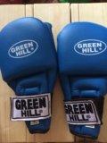Накладки перчатки для единоборств green hill. Фото 1.