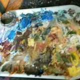 "Картина маслом копия картины ""море.крым"" куинджи. Фото 3."