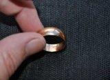 Золотое кольцо 6,2 гр., пр 583, ссср. Фото 1.