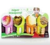 Ложки для мороженого пластмассовые.10см. Фото 1.