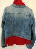 Джинсовая куртка для девочки. Фото 2.