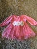 Платье на девочку , размер 68. Фото 1.