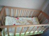 Кроватка новая. Фото 1.