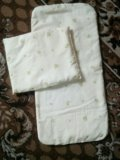 Матрасик с подушкой в коляску. Фото 1.