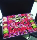 Цветочная коробочка подарок. Фото 1.