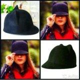 Новая, красная, стильная шапочка. Фото 3.
