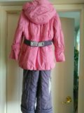 Комбез для девочки осень-зима. Фото 2.