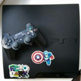 Sony ps3 slim 320gb. Фото 1.