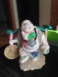 Фигура будды большая. Фото 1.