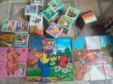 Кубики детские. Фото 1.
