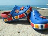 Crocs для мальчика б/у серия lego. Фото 1.