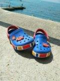 Crocs для мальчика б/у серия lego. Фото 2.