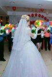 Продаю свадебное платье и фату!. Фото 4.