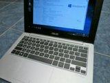 Asus x201e - легкий ноутбук, ssd. Фото 1.